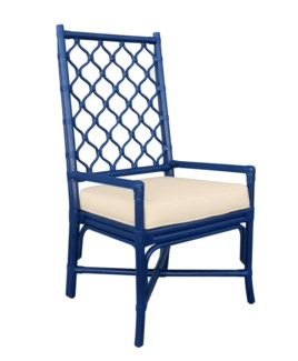 Ambrose Arm Chair - Blueberry