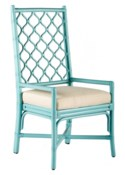 Ambrose Arm Chair - Light Blue