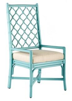 Ambrose Arm Chair - Light Blue