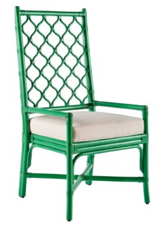 Ambrose Arm Chair - Parsley