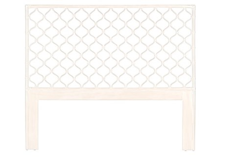 Ambrose Queen Headboard - Winter White