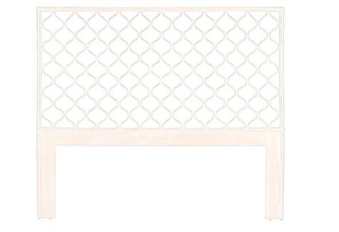 Ambrose Queen Headboard - Winter White