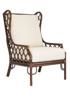 Ambrose Wing Chair- Cinnamon
