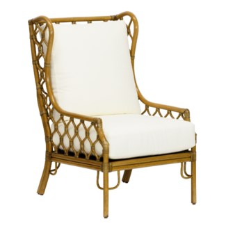 Ambrose Wing Chair- Nutmeg