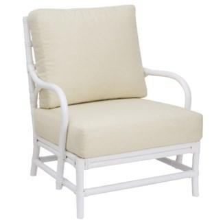 Ava Lounge Chair - White