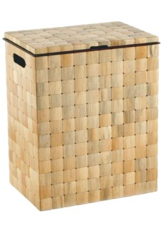 Barclay Hamper w/Lid - Pine