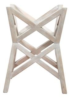 Bridge Dining Table (Base) - White Wash