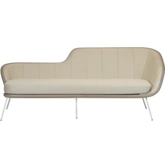 Bend Sofa - Grey Fabric