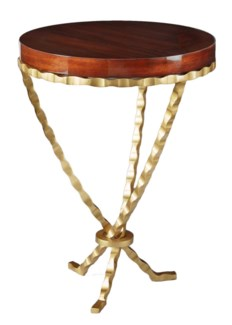 Bijou Accent Table - Gold