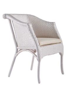 Barbara Chair W/ Loose Pillow- Salt