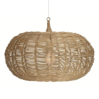 Medium Calabash Hanging Pendant - Natural