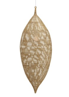 Small Calabash Hanging Pendant - Natural