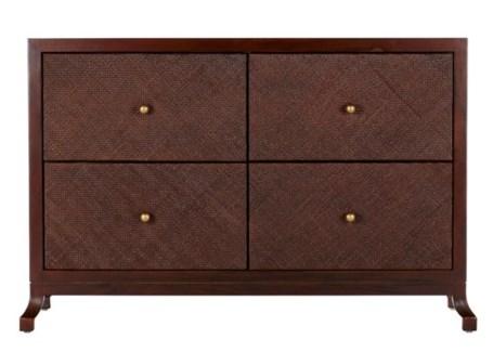 Caprice Four Drawer Cabinet - Hazelnut