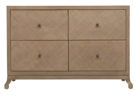 Caprice Four Drawer Cabinet - Porcini