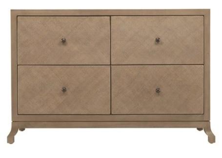 Caprice Four Drawer Cabinet - Porcini