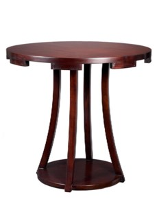 Camelot Side Table - Ebony
