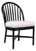 Carousel Dining Chair - Black Caviar