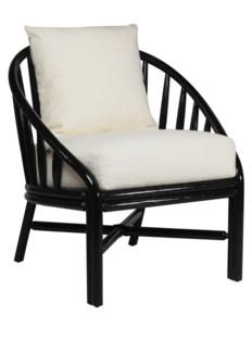 Carousel Lounge Chair - Black Caviar