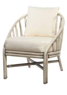 Carousel Lounge Chair- Oyster