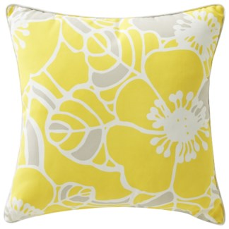 Rapee Cabana Hibiscus Zest Pillow 20x20 (Outdoor)