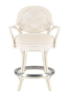 Dahlia Counterstool - White