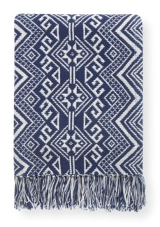 Rapee Damaska Indigo Throw 152cm