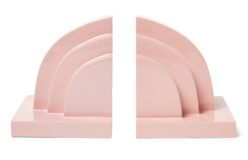 Deco Book Ends - Pink