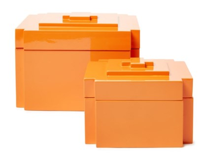 Deco Nesting Boxes (2) - Orange (1575C)