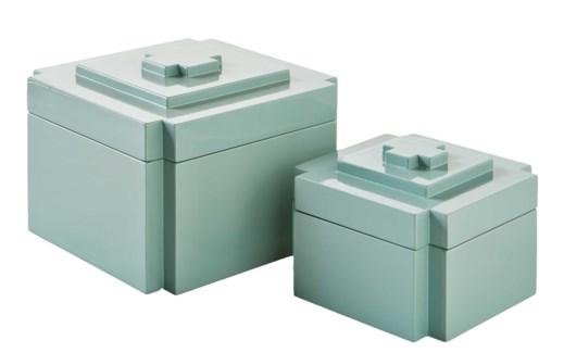 Deco Nesting Boxes (2) - Ice