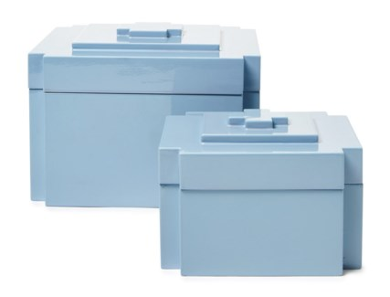 Deco Nesting Boxes (2) - Light Blue (543C)