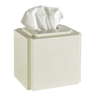 Deco Tissue Cover - White