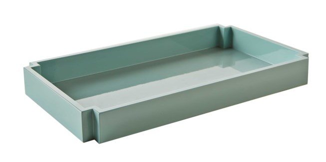 Deco Towel Tray - Ice