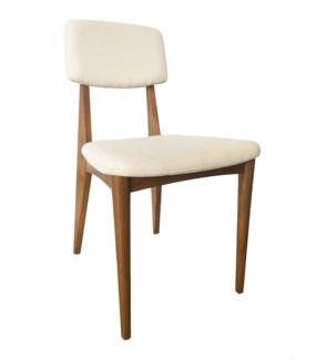 Dane Side Chair - Natural Teak