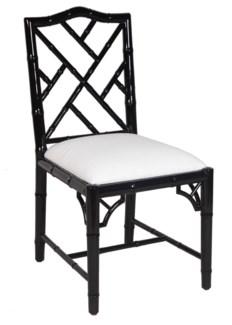 Britton Dining Chair - Black Lacquer