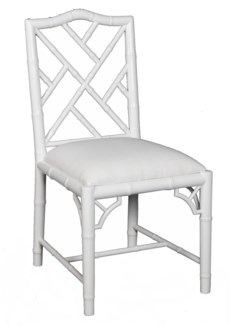Britton Dining Chair - White Lacquer