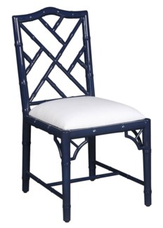 Britton Dining Chair - Navy Lacquer