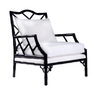 Kennedy Lounge Chair - Ebony Lacquer