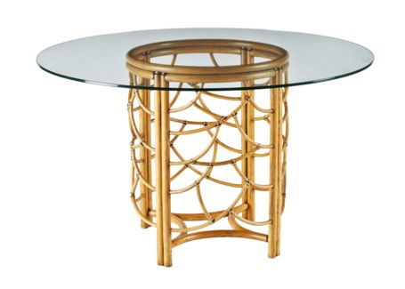 DOT Dining Table Base- Nutmeg