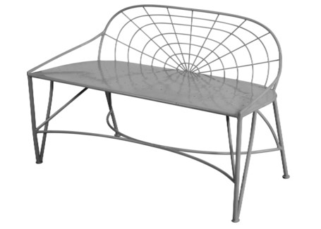 Mayfair Garden Bench - Dove Grey