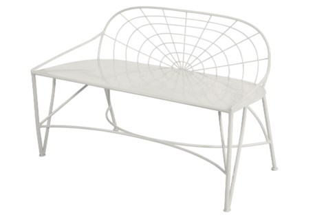 Mayfair Garden Bench - White