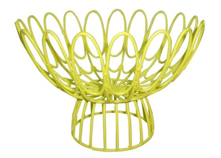 Mayfair Floral Wire Bowl