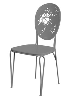 Mayfair Bistro Chair - Dove Grey