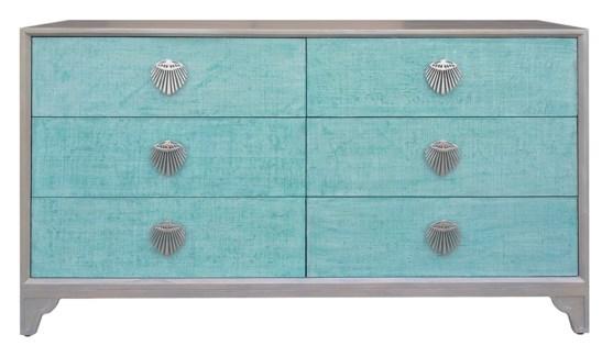 Shanghai Six-Drawer Dresser - Jade