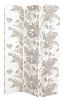 Shanghai Folding Screen - Shadow Floral & Bamboo Hawaiian