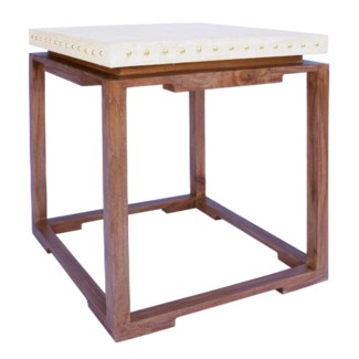Shangai Raffia Side table