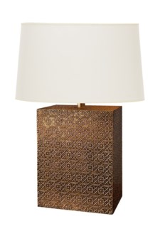 Florence Broadhurst Spanish Cane Clad Table Lamp