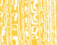Steps Chair Cushion Cover - Water Weave (Citrine)