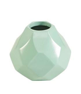 Diamonds Husky Small Vase - Mint