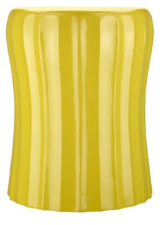 Gemma Lacquer Spot Table, Cinch - Yellow