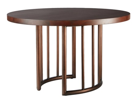 "Henny Dining (48"") Table - Bronze"